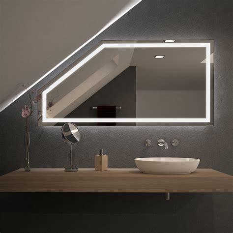beleuchtung dachschräge spiegel f 252 r dachschr 228 mit led beleuchtung fiola 989707058