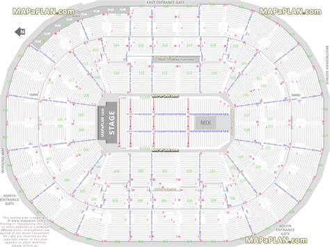 moda center seating map image gallery moda center seating