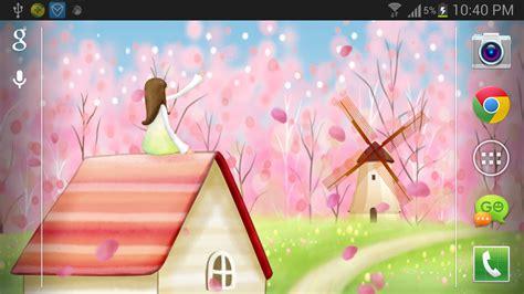 wallpaper live bunga sakura download sakura live wallpaper free for android sakura