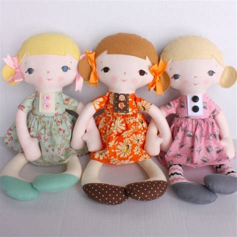 Handmade Toys Patterns - 25 unique handmade dolls patterns ideas on