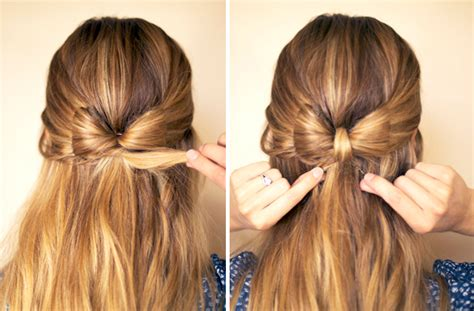 bow hair hair and make up by steph how to hair bow