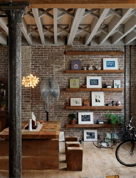 Decorating Ideas Exposed Brick Exposed Brick Wall Decor Spark