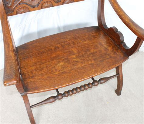 small bench with back bargain john s antiques 187 blog archive quarter sawn oak