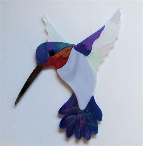 mosaic hummingbird pattern hummingbird 11 precut stained glass art kit mosaic inlay