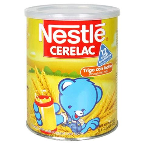 Cerelac Nestle 8 nestle cerelac wheat with milk cereal 17 6 ounce