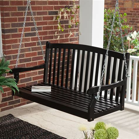 black porch swings black porch swing styles laluz nyc home design