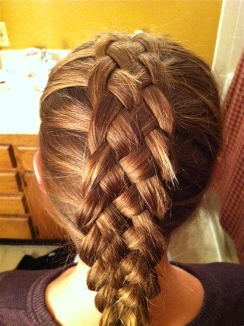 5 strand french braid 5 strand braid on christy jahns hair and nails pinterest