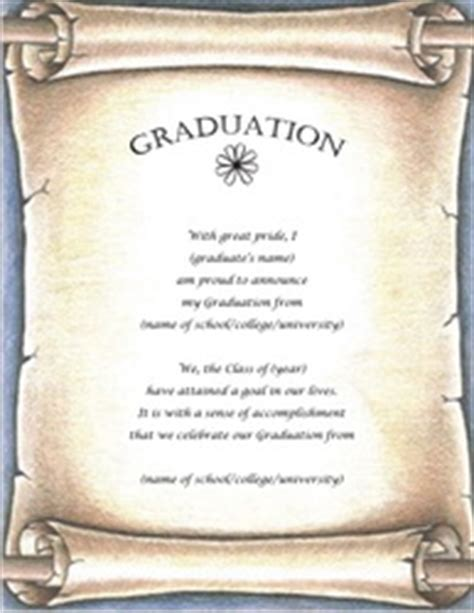 free graduation invitation templates for word graduation stationery templates clip wording geographics