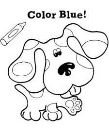 blues clues coloring pages blues clues party