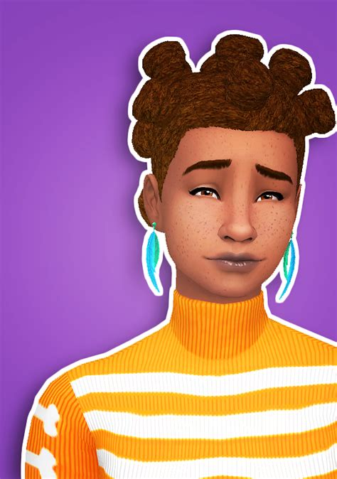 sims 4 cc afro lana cc finds ddeathflower here are two more hairs
