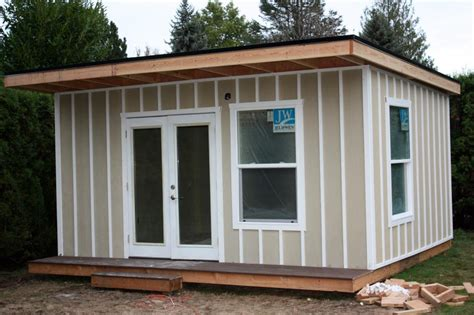 build backyard office new business makesomeroom ready to build backyard office