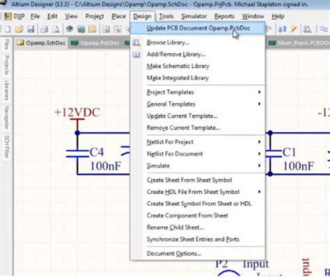 pcb design tutorial video altium create pcb from schematic altium designer pcb