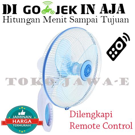 Miyako Kaw 1689 Rc Kipas Angin Dinding Wall Fan With Remote jual miyako kipas angin tembok kaw 1689rc dilengkapi