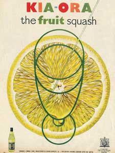Kia Ora Orange 1951 Kia Ora Orange Squash Vintage Advert Retrofair