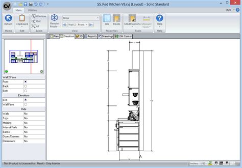 cabinet drafting software free solid standard