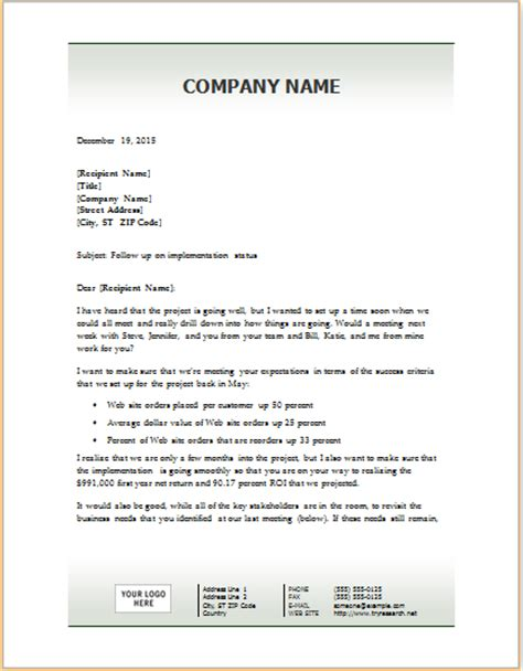 sales follow up template sale follow up letter word template word excel templates