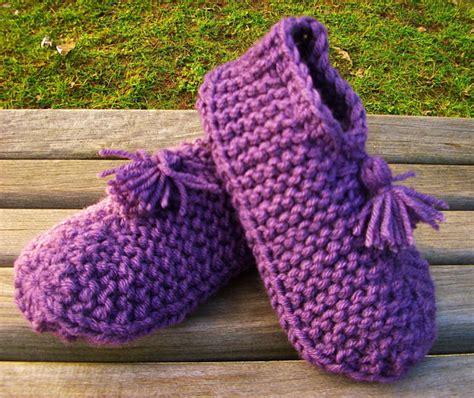 free knitting pattern house socks slipper sock patterns free patterns