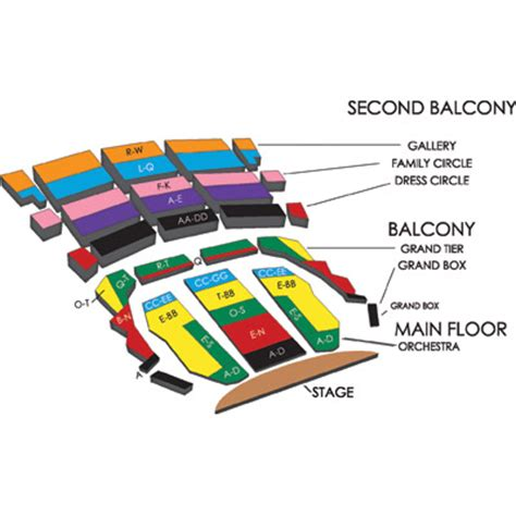 overture center seating overture seating chart overture center for the arts