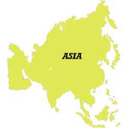 Free Asia Outline Map Vector by Vector Map Of Asia At Vectorportal