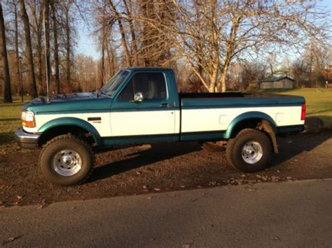 how cars work for dummies 1995 ford f350 on board diagnostic system sell used 1995 f350 7 3l deisel low miles in oregon city oregon united states
