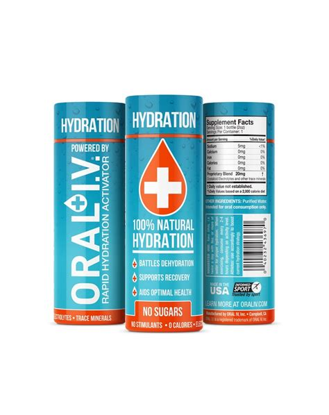i v hydration i v launches improved formula and new packaging to