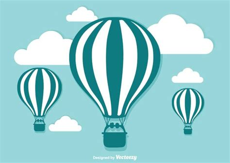 illustrator tutorial hot air balloon hot air balloon illustration vector free vector download