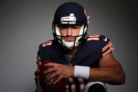 mitchell trubisky says he won t hold out trusting a deal
