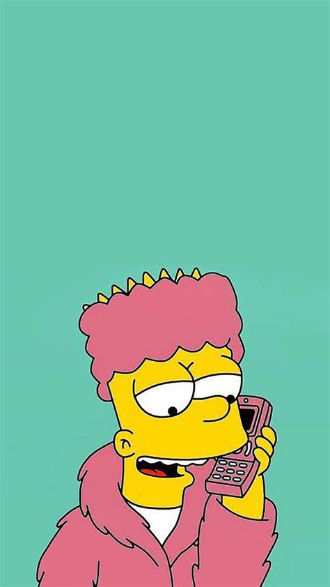 wallpaper iphone 6 simpsons bart simpson wallpaper for iphone x 8 7 6 free