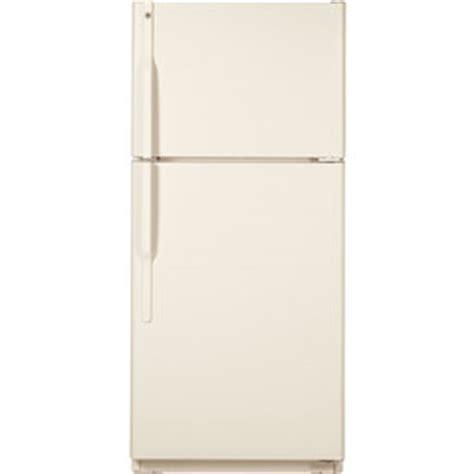 bisque colored refrigerators 28 images shop ge profile shop ge 18 cu ft top freezer refrigerator color bisque