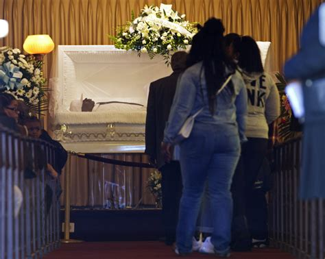 family and friends gather to mourn freddie gray at