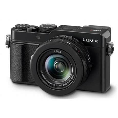 panasonic lumix lx100 ii black digital camera