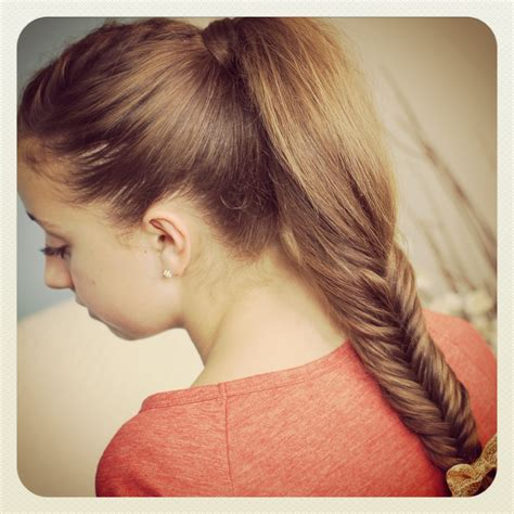 hairstyle with 2 shoulder braids fluffy fishtail braid hairstyles for long hair cute