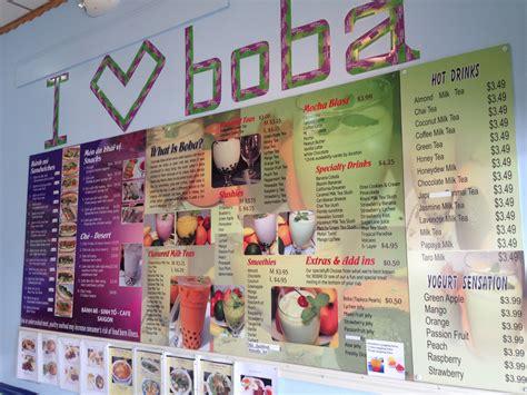 Q-Cup Boba Tea - Menu - Jacksonville Restaurant Reviews Q Cup