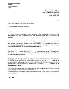 Exemple De Lettre Pour Huissier Exemple Lettre Huissier Justice