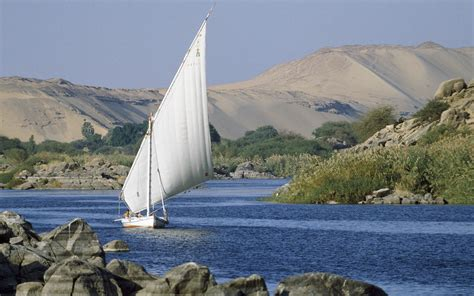 cruising the nile river in egypt travel leisure - Sailboat On The Nile