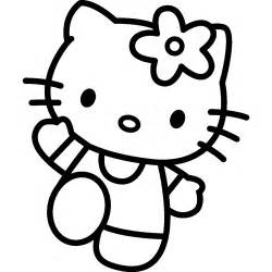 Mas Hello Kitty Colouring Pages sketch template