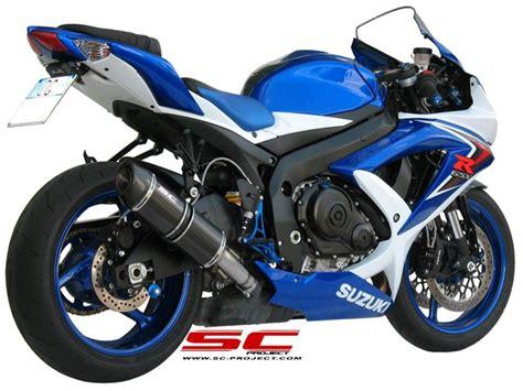 Knalpot Racing Suzuki Gsx Sc Project Carbon suzuki gsx r 600 750 08 10 exhaust sc project