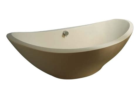 vasca da bagno resina vasca da bagno free standing in resina titanica idfdesign
