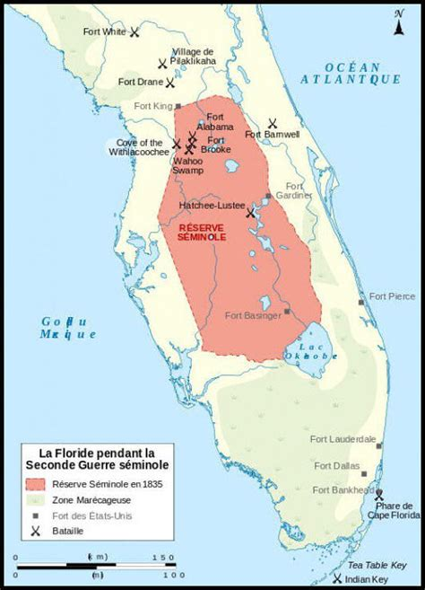 florida indian reservations map american tribes seminole