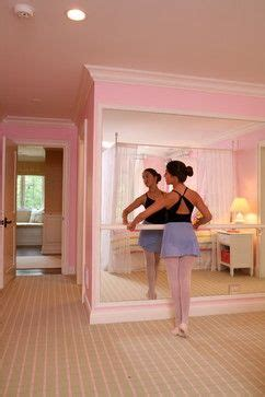 day one bedroom dancing ideas for an at home dance space ballet bar traditional