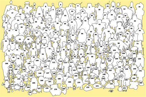 where s free coloring pages of where s waldo