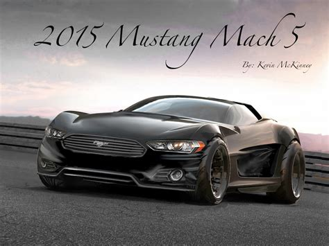 informative 2015 mustang mach 5 concept