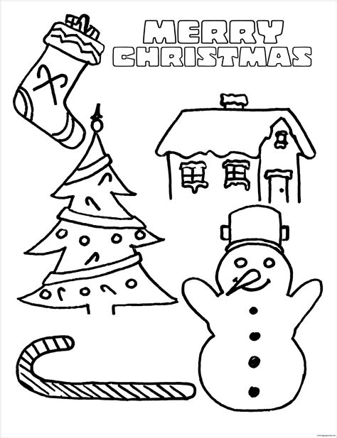 merry christmas coloring pages online merry christmas 7 coloring page free coloring pages online
