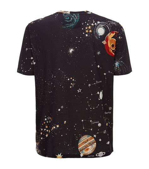 Roster Outer Denim Blouse valentino outer space t shirt in black for lyst