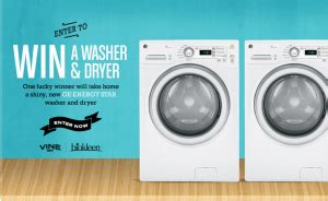 Laundry Pair A Day Giveaway by Vine S Biokleen Washer Dryer Giveaway Win A Washer