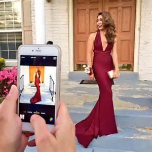 2017 burgundy mermaid prom dresses deep v neck backless