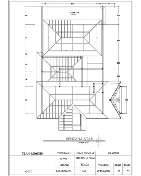denah layout butik desain butik di palembang sumatra juni 2011