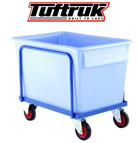 Plastic Clothes Storage Containers - plastic container truck standard wheel model