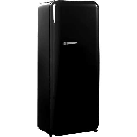 Vitage Black black retro vintage refrigerator