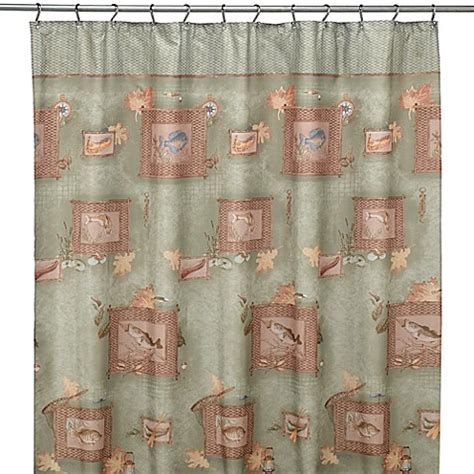 Fishing Shower Curtains Buy Fish Curtains From Bed Bath Beyond